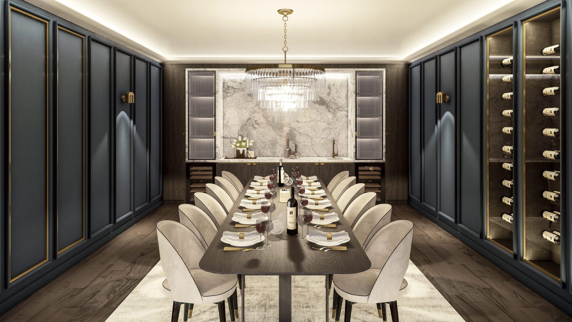 Dining Room - Angle 1